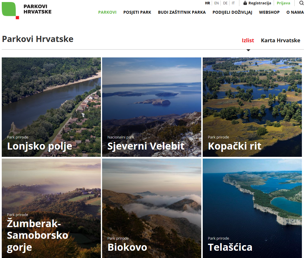 parkovi hrvatske nacionalni parkovi i parkovi prirode  fotografije prirode ljepote firefox.php #14